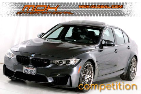 2017 BMW M3 - Competiton - Executive pkg - Top View cams in Los Angeles