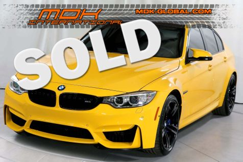 2017 BMW M3  - Comp - Manual - 1 / 50 Individual Speed Yellow in Los Angeles