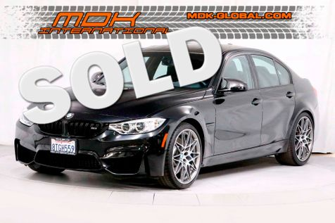 2017 BMW M3  Competition - MANUAL - Carbon Slicktop in Los Angeles