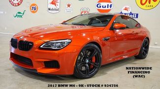 2017 BMW M6 Coupe NAV,BACK-UP CAM,HTD LTH,H/K SYS,BLK 20'S,9K! in Carrollton TX, 75006