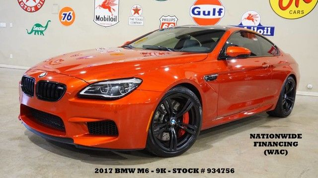 2017 BMW M6 Coupe NAV,BACK-UP CAM,HTD LTH,H/K SYS,BLK 20'S,9K