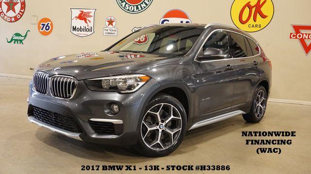 2017 BMW X1 sDrive28i MSRP 40K,PANO ROOF,NAV,HTD LTH,13K,WE FINANCE
