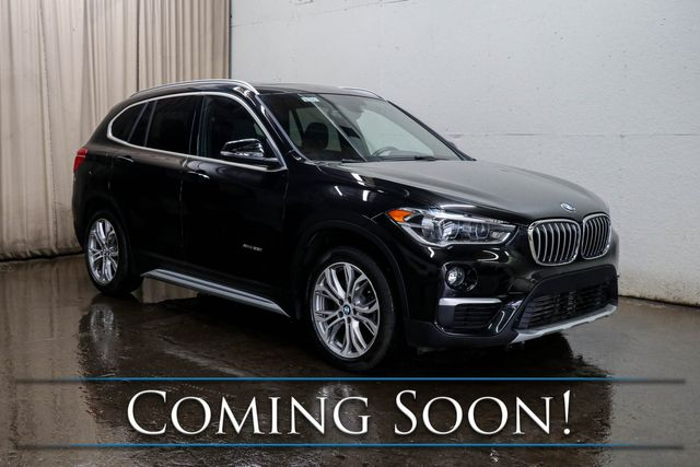 2017 BMW X1 xDrive28i AWD Crossover w/Head-Up Display, Nav, Backup Cam, Panoramic Roof & B.T. Audio in Eau Claire, Wisconsin 54703