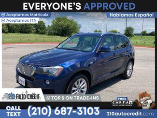 2017 BMW X3 sDrive28i SDRIVE28I in San Antonio, TX 78237