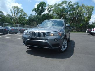 2017 BMW X3 sDrive28i SDRIVE28I PANORAMIC. NAVIGATION SEFFNER, Florida