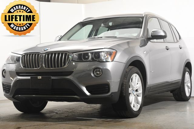 2017 BMW X3 xDrive28i w/ Nav Safety Tech