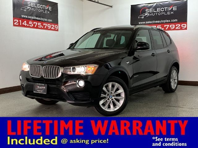 2017 BMW X3 xDrive28i xDrive28i, PANO ROOF, HEATED FRONT SEATS