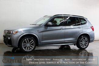 2017 BMW X3 xDrive35i AWD Luxury SUV with M-Sport Pkg, in Eau Claire, Wisconsin