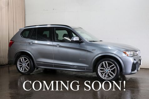 2017 BMW X3 xDrive35i AWD Luxury SUV with M-Sport Pkg, Navigation, Cold Weather Pkg & Harman/Kardon Audio in Eau Claire
