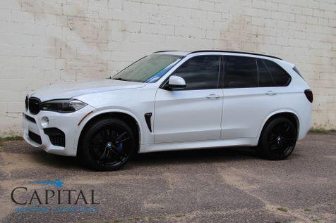 2017 BMW X5 M xDrive AWD w/567HP V8, Executive Pkg, Heated/Cooled Seats, Adaptive Cruise & 21