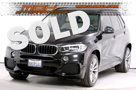 2017 BMW X5 xDrive35d - M Sport pkg - Touch screen nav - Warranty in Los Angeles