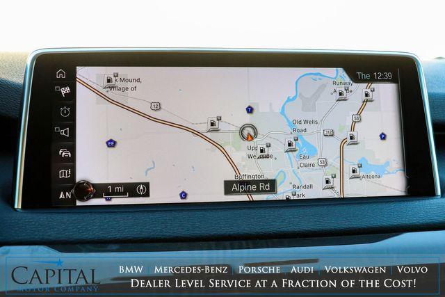 2017 BMW X5 xDrive35i AWD Luxury SUV w/Nav, Backup Cam, Panoramic Roof, Heated Seats & Apple CarPlay in Eau Claire, Wisconsin 54703