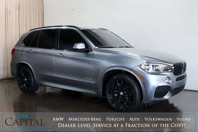 "2017 BMW X5 xDrive50i M-Sport AWD SUV w/Executive Pkg, Panoramic Roof, Driver Assist Plus Pkg & 20"" Rims"