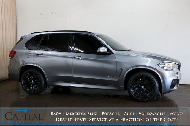 "2017 BMW X5 xDrive50i M-Sport AWD SUV w/Executive Pkg, Panoramic Roof, Driver Assist Plus Pkg & 20"" Rims in Eau Claire, Wisconsin 54703"