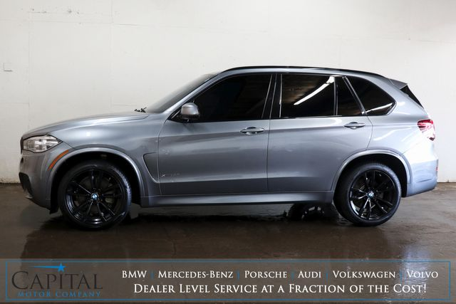 """2017 BMW X5 xDrive50i M-Sport AWD SUV w/Executive Pkg, Panoramic Roof, Driver Assist Plus Pkg & 20"""" Rims in Eau Claire, Wisconsin 54703"""