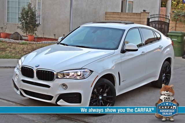 "2017 BMW X6 sDrive35i RARE M-SPORT PKG RED SEATS 20"" WHLS in Van Nuys, CA 91406"