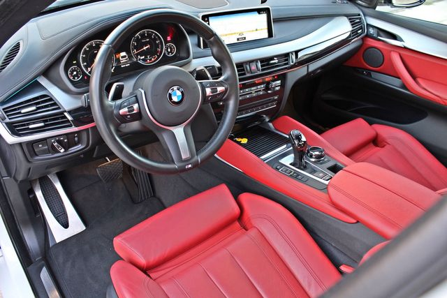 2017 Bmw X6 Sdrive35i Rare M Sport Pkg Red Seats 20 Whls In Van