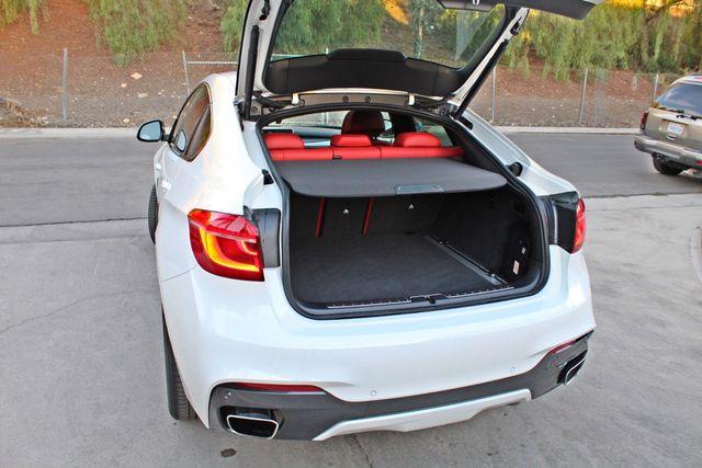 "2017 BMW X6 sDrive35i RARE M-SPORT PKG RED SEATS 20"" WHLS in Woodland Hills, CA 91367"
