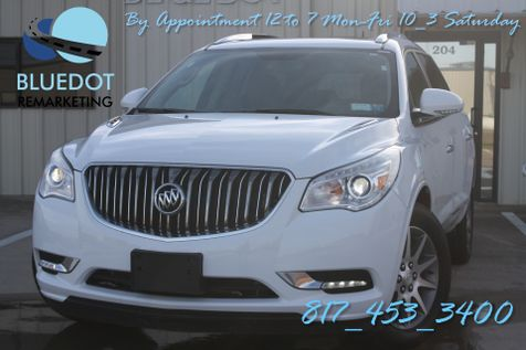 2017 Buick Enclave Leather | DUAL ROOF-XENON- VENTED LEATHER-PARK ASSIST-CAM-BTM-BUICK WARRANTY~ in Mansfield, TX