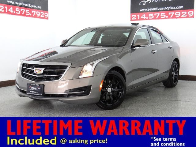 2017 Cadillac ATS Sedan Luxury AWD, NAV, LEATHER SEATS, SUNROOF