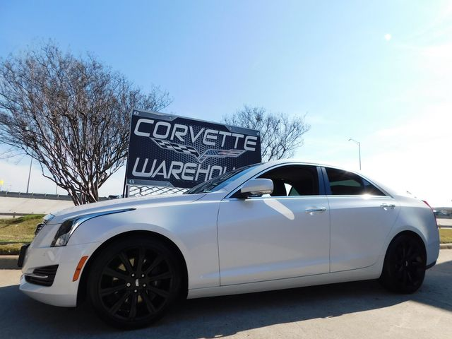 2017 Cadillac ATS Sedan Luxury RWD NAV, Sunroof, Black Alloys 27k