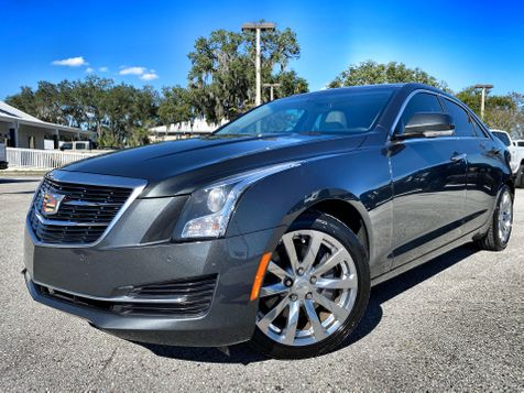 2017 Cadillac ATS Sedan LUXURY MOONROOF CARFAX CERT 1 OWNER LEATHER in Plant City, Florida