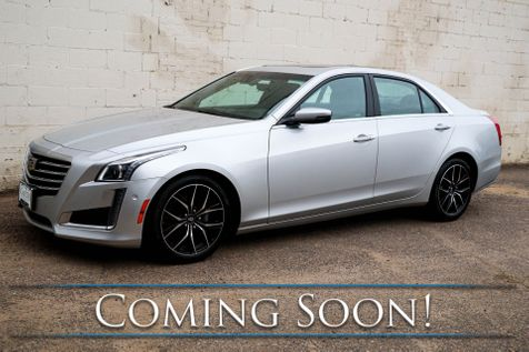 2017 Cadillac CTS 3.6 Premium Luxury AWD Sedan w/Navigation, Head-Up Display, Adaptive Cruise and Duo-Tone Rims in Eau Claire
