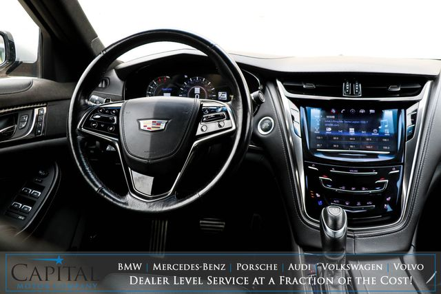 2017 Cadillac CTS 3.6 Premium Luxury AWD Sedan w/Navigation, Head-Up Display, Adaptive Cruise and Duo-Tone Rims in Eau Claire, Wisconsin 54703