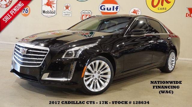 2017 Cadillac CTS Sedan Premium Luxury AWD HUD,ULTRA ROOF,360 CAM,17K