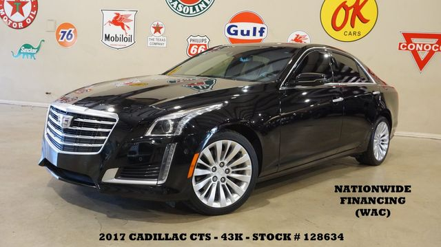 2017 Cadillac CTS Sedan Premium Luxury AWD HUD,ULTRA ROOF,360 CAM,43K