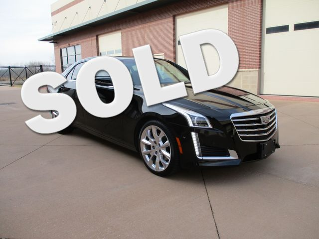 2017 Cadillac CTS Sedan Premium Luxury AWD