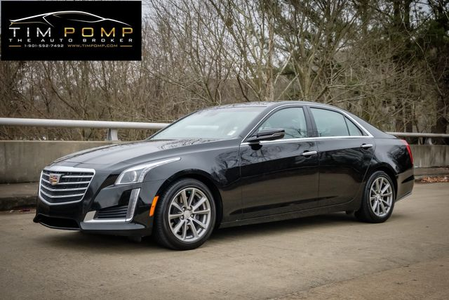 2017 Cadillac CTS Sedan Luxury pano roof navigation leather seats