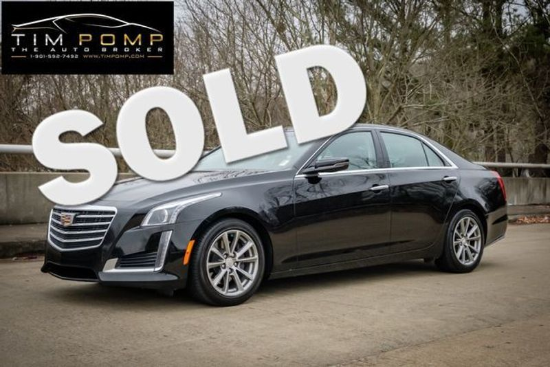 2017 Cadillac CTS Sedan Luxury RWD   Memphis, Tennessee   Tim Pomp - The Auto Broker in Memphis Tennessee