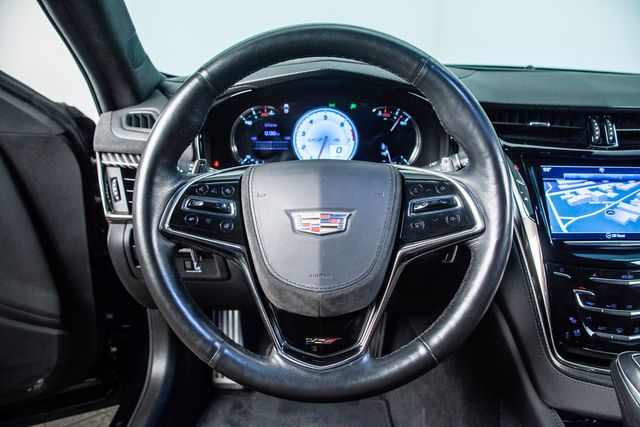 2017 Cadillac CTS-V Carbon Black Package in Addison, TX 75001