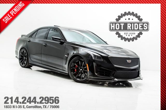 2017 Cadillac CTS-V Carbon Black Package