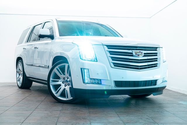 2017 Cadillac Escalade Platinum WXM850 Pkg Supercharged/Cammed in Addison, TX 75001