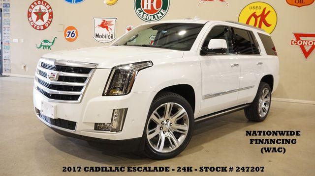 2017 Cadillac Escalade Premium Luxury HUD,ROOF,NAV,360 CAM,REAR DVD,24K