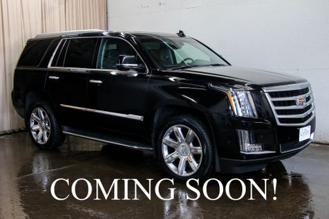 2017 Cadillac Escalade 4WD w/3rd Row, Navi, 360° Backup Cam,  Heated & Cooled Seats, BOSE Audio & HUD in Eau Claire