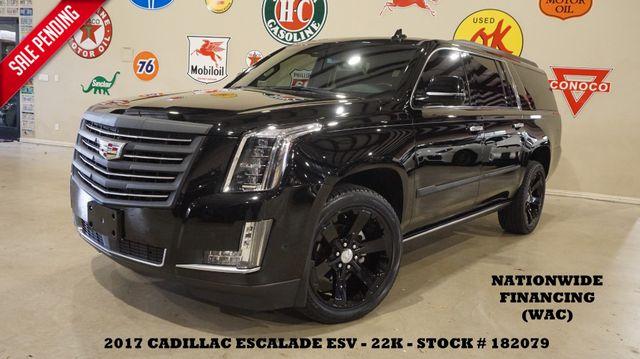 2017 Cadillac Escalade ESV Platinum 4WD HUD,ROOF,360 CAM,REAR DVD,22K in Carrollton, TX 75006