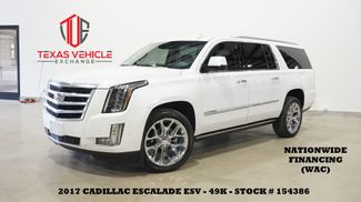 2017 Cadillac Escalade ESV Premium Luxury 4WD HUD,ROOF,360 CAM,REAR DVD,49K in Carrollton, TX 75006