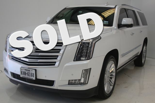 2017 Cadillac Escalade ESV Platinum Houston, Texas 0