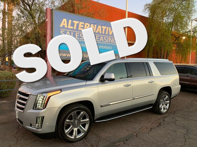 2017 Cadillac Escalade ESV Luxury 6 YEAR/70,000 MILE FACTORY POWERTRAIN WARRANTY Mesa, Arizona
