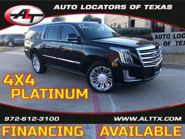 2017 Cadillac Escalade ESV Platinum in Plano, TX 75093