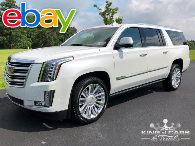 2017 Cadillac Escalade Esv PLATINUM ONLY 12K MILES 1-OWNER AWD MINT