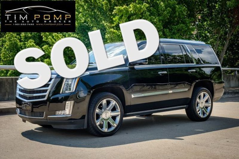 2017 Cadillac Escalade Premium Luxury   Memphis, Tennessee   Tim Pomp - The Auto Broker in Memphis Tennessee
