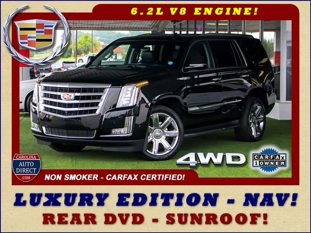 "2017 Cadillac Escalade Luxury 4WD - NAV - REAR DVD - SUNROOF - 22"" WHEELS Mooresville , NC 0"