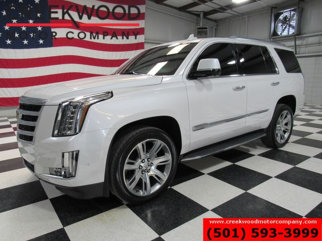 2017 Cadillac Escalade Luxury 4x4 1 Owner Financing Warranty Loaded White in Searcy, AR 72143