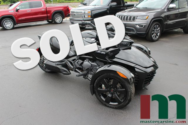 2017 Can-Am Spyder F3 Night Edition | Granite City, Illinois | MasterCars Company Inc. in Granite City Illinois