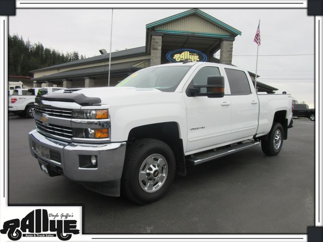 2017 Chevrolet 2500 HD Silverado LT C/Cab 4WD 6.6L Diesel in Burlington, WA 98233