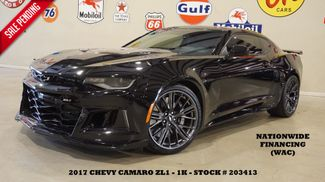 2017 Chevrolet Camaro ZL1 Coupe 6 SPD,HUD,ROOF,NAV,HTD/COOL LTH,1K in Carrollton TX, 75006